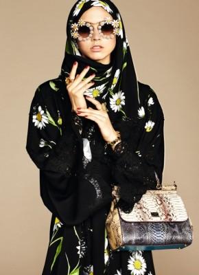 Dolce Gabbana Abaya Hajib