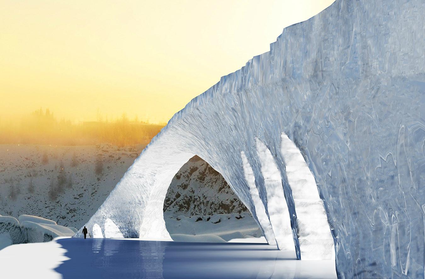 Daily Edit: Ice Bridge