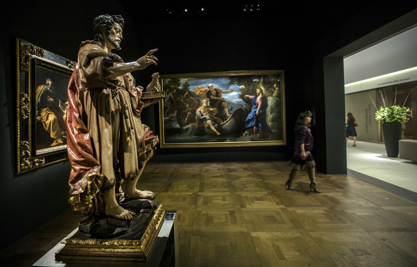 Tefaf from maastricht to new york nuvo for Craft fair nyc 2017