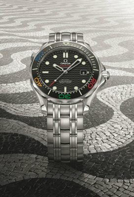 Daily Edit: Rio 2016 Olympic Omega Seamaster