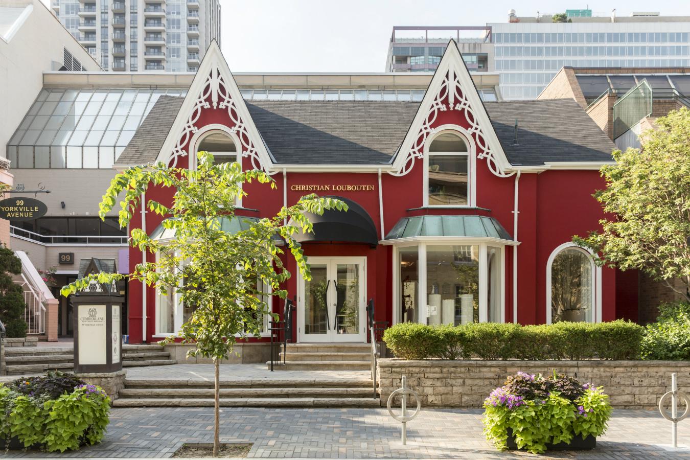 Daily Edit: Christian Louboutin Flagship Toronto