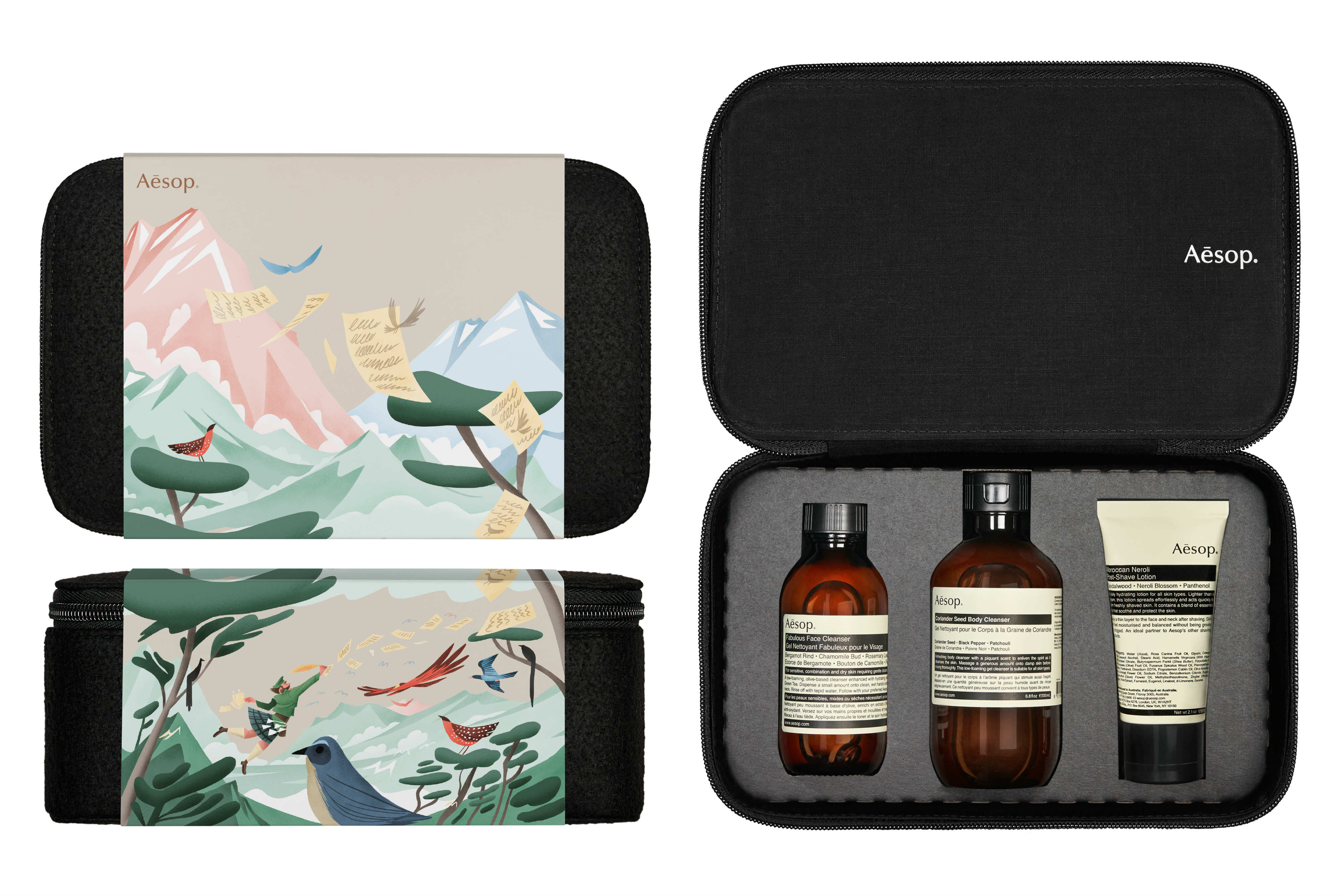 Daily Edit, Aesop Gift Kits, Holidays
