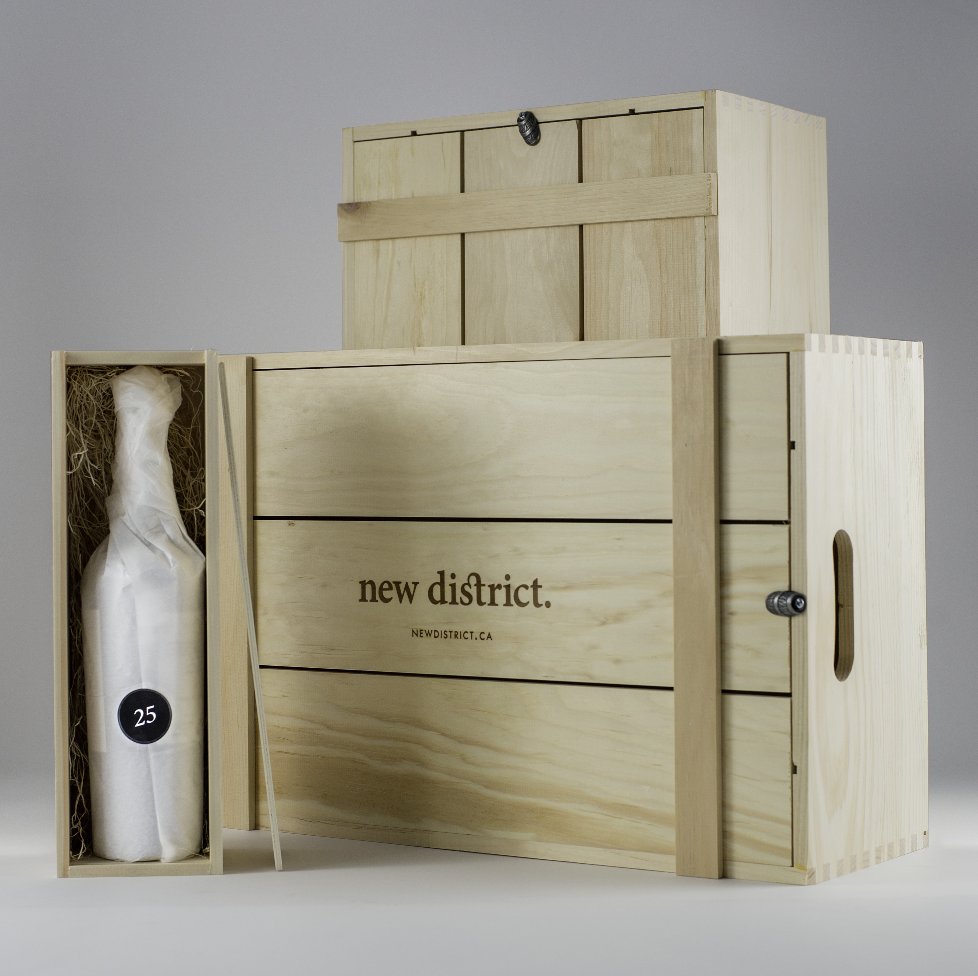 Daily Edit, Wine Advent Calendar, New District