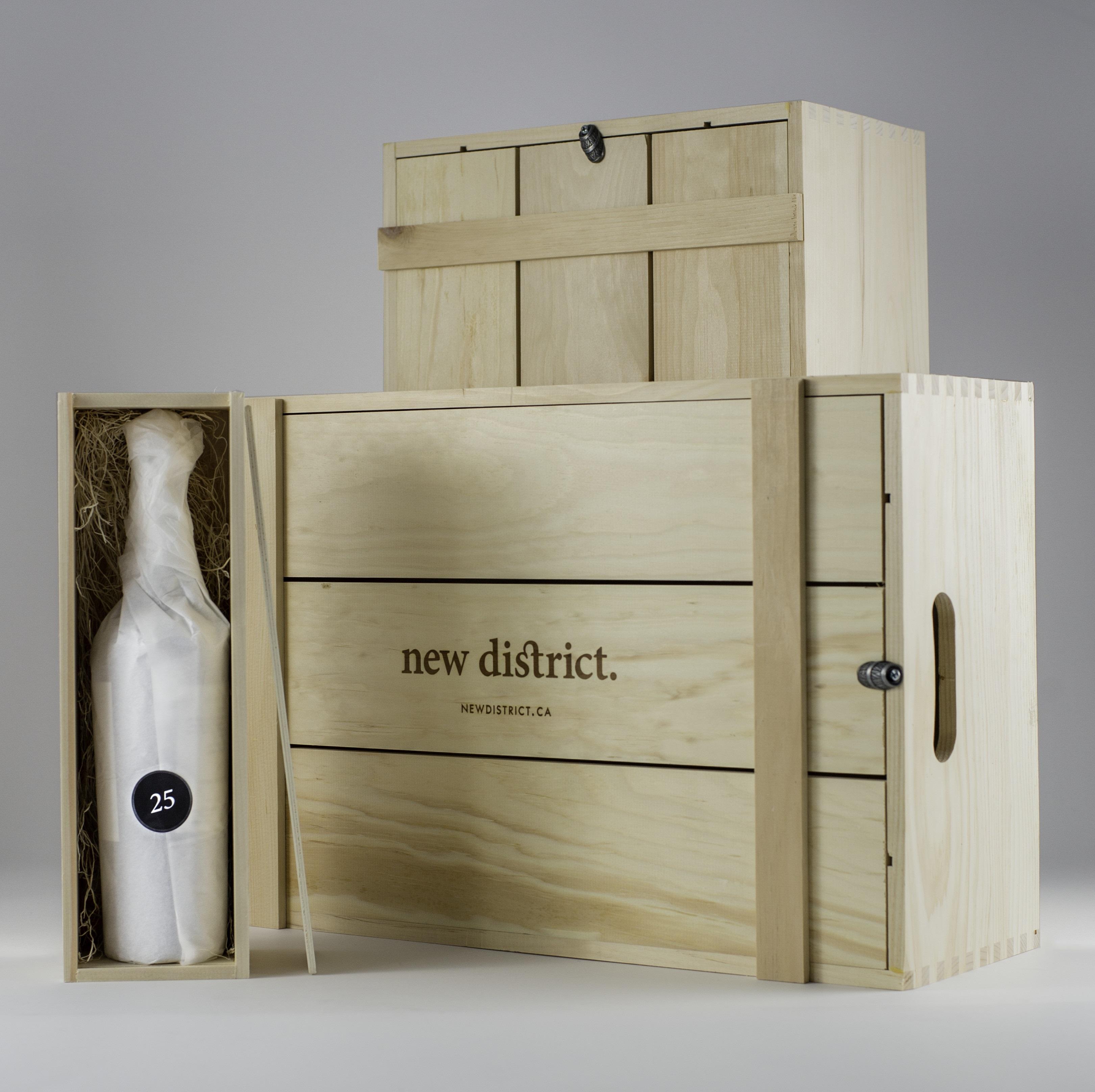 Daily Edit, Wine Advent Calendar, New District