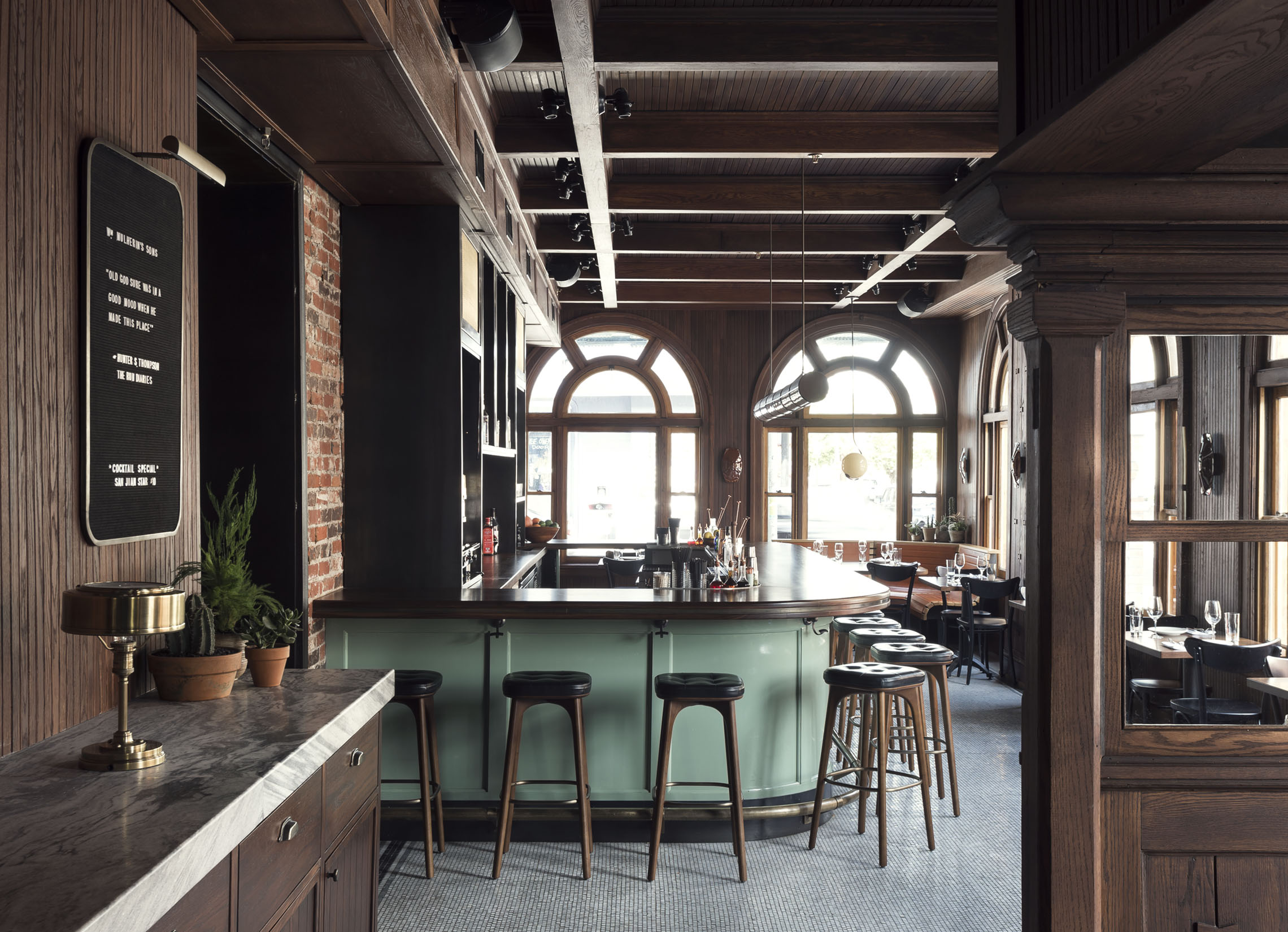 wm mulherin s sons restaurant and hotel philadelphia nuvo. Black Bedroom Furniture Sets. Home Design Ideas