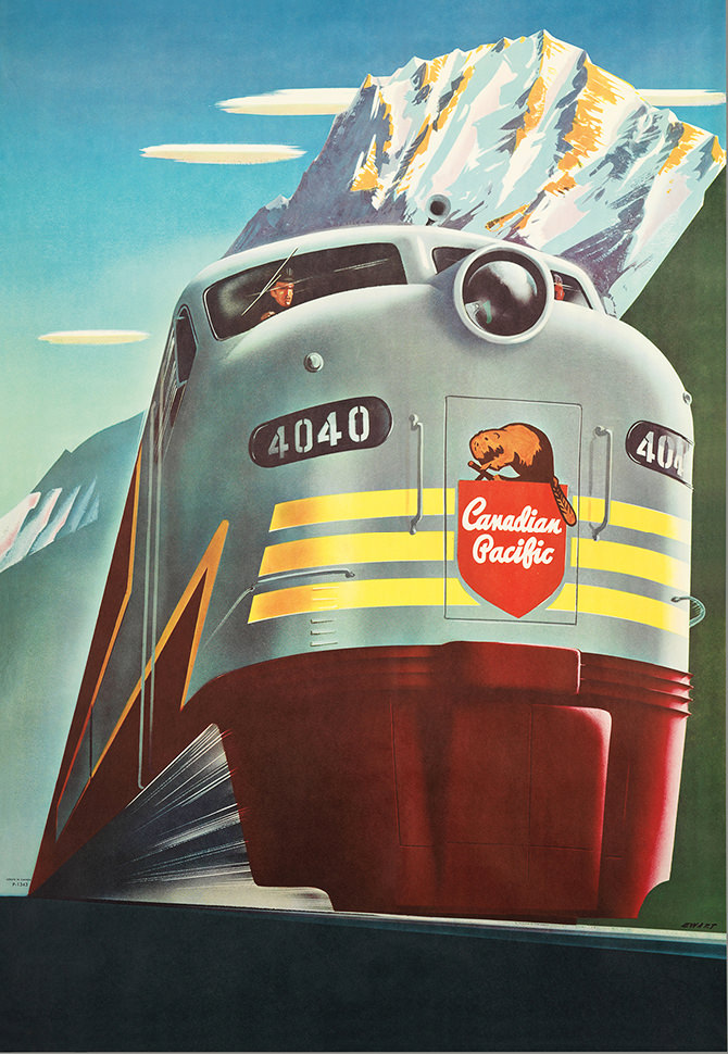 Canadian Pacific Railway Of Note