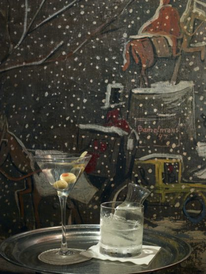Bemelmans bar at the carlyle nuvo for Bemelmans bar mural