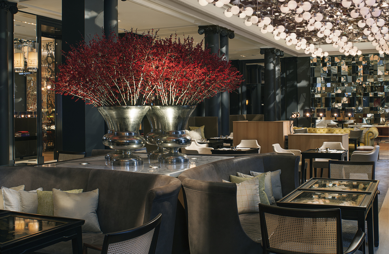 tea time at the rosewood hotel london nuvo. Black Bedroom Furniture Sets. Home Design Ideas