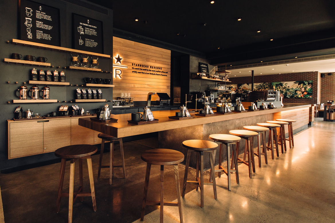 Vancouver S Starbucks Reserve Bar Nuvo