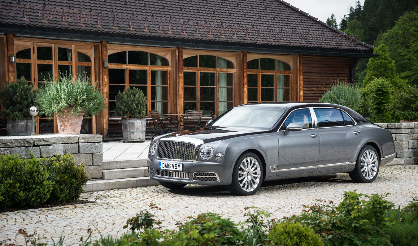 Ticket to Ride, Bentley's Flying Spur and Mulsanne Saloons