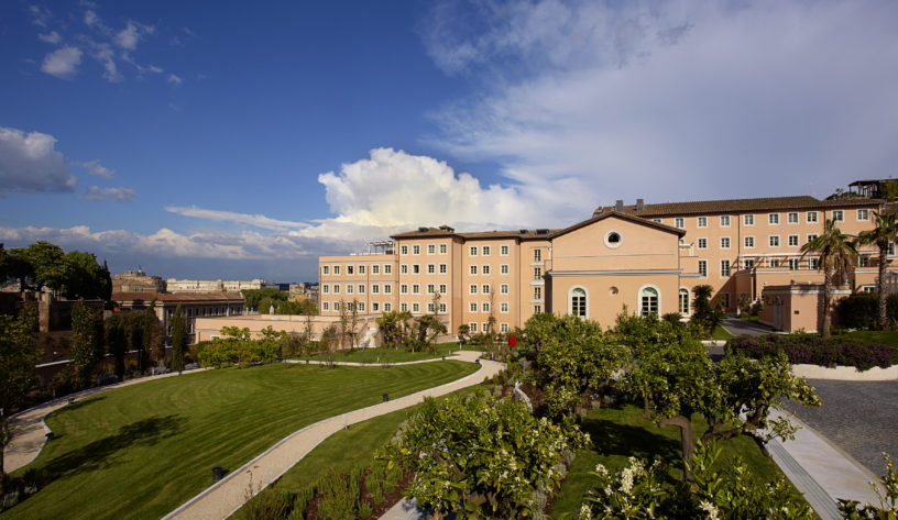 The Gran Meliá Rome Is A Sprawling Hotel Resort Located On Quiet Janiculum Hill Between Trastevere And Vatican City