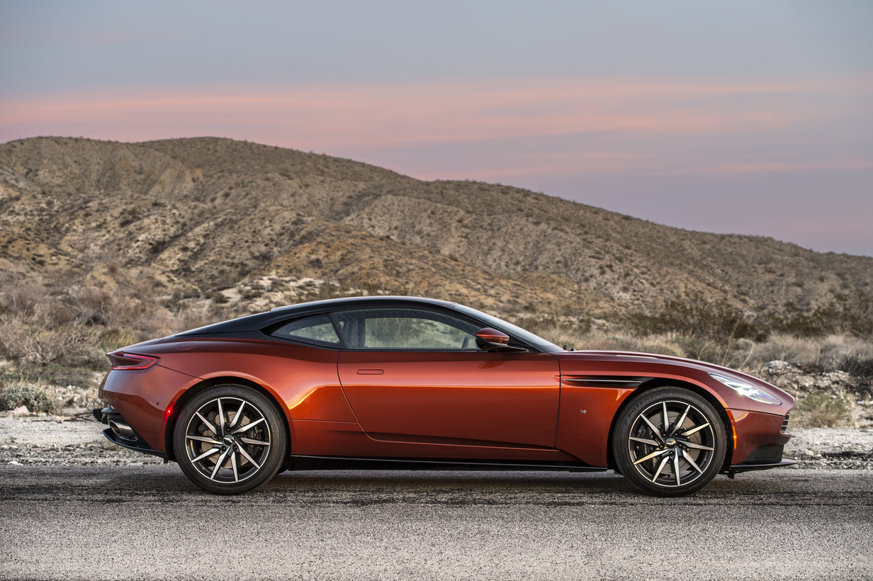 The 2017 Aston Martin DB11