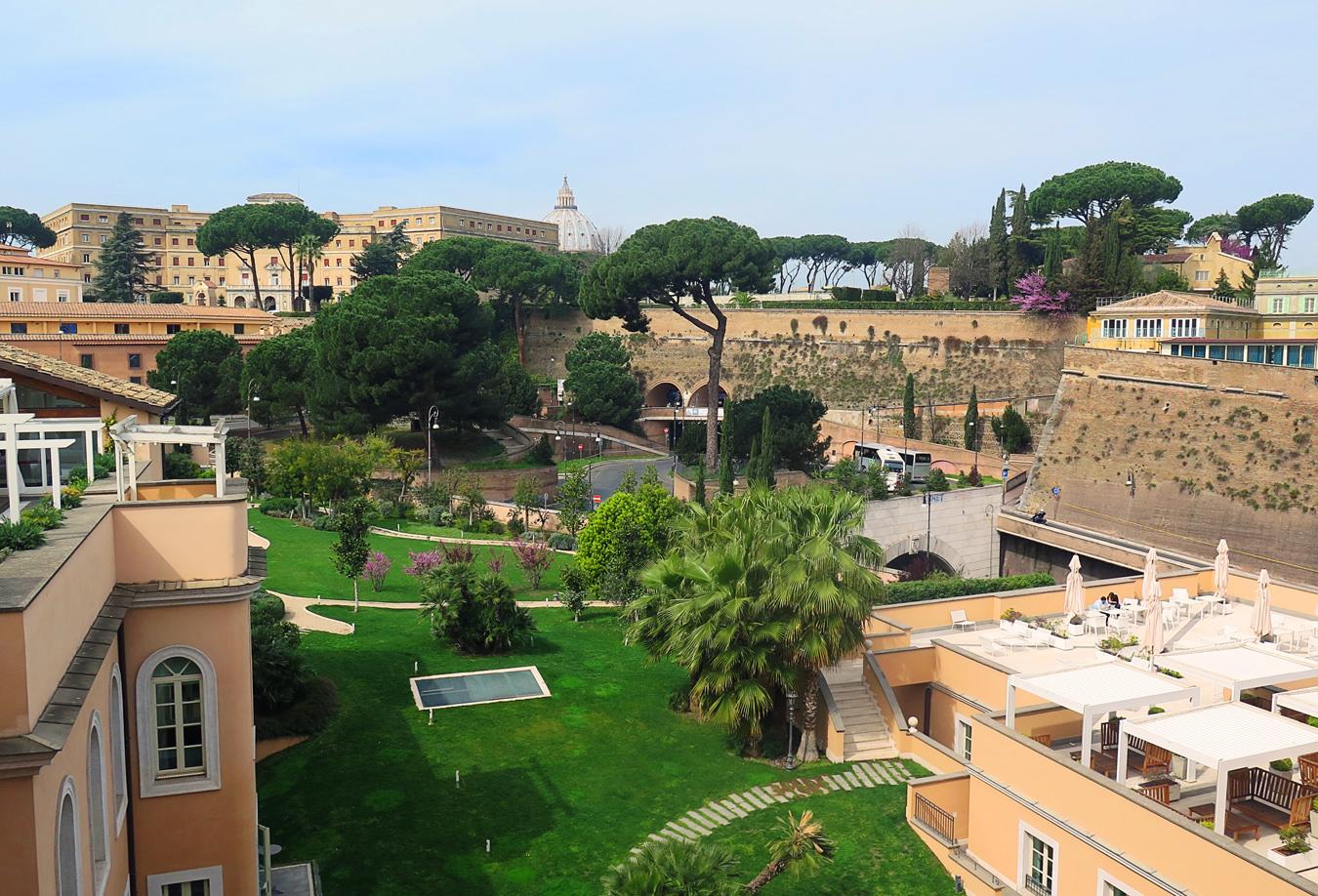 The gran meli hotel rome nuvo for Rome gran melia hotel