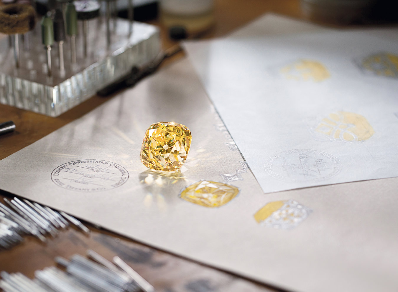 Tale of the Tiffany Diamond, Chronicle, Autumn 2017