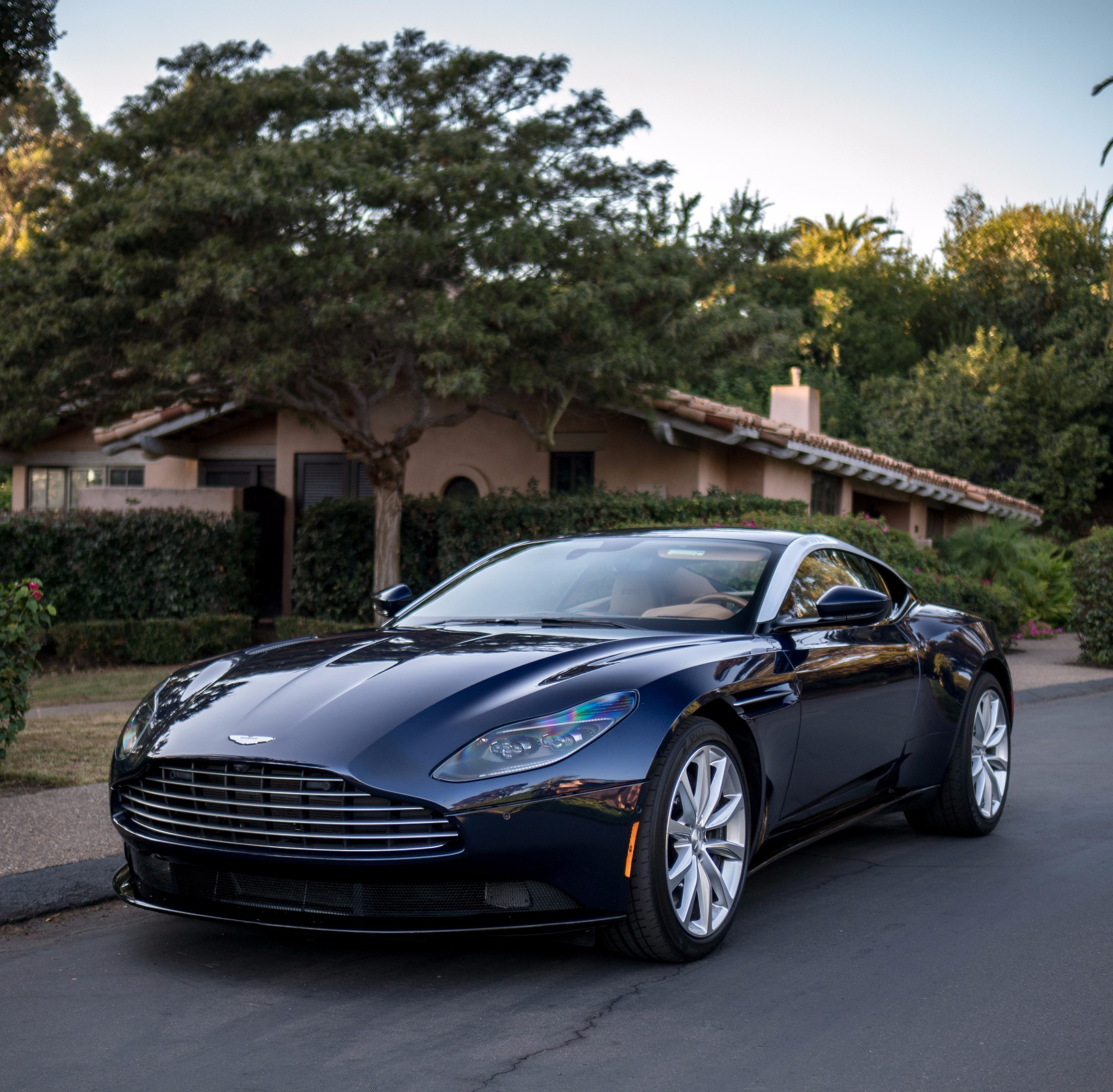 The Aston Martin DB11 V8