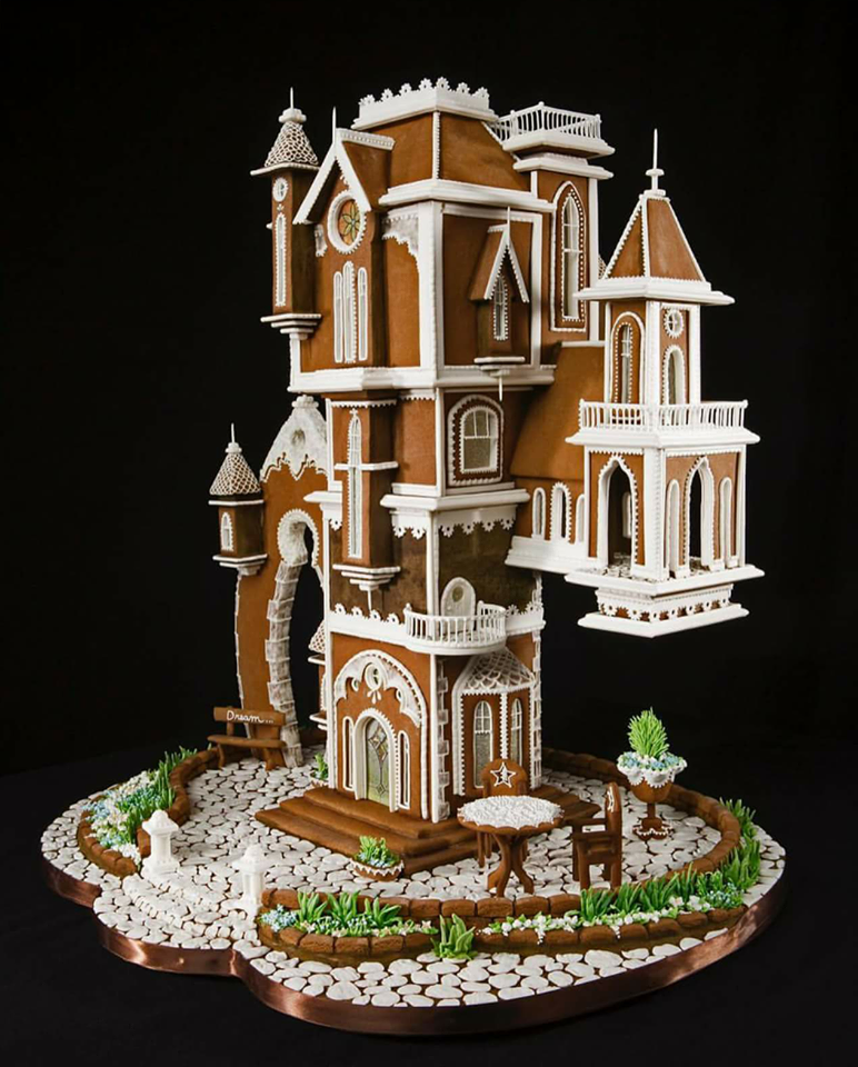 Dream Home: The World Of Competitive Gingerbread Architecture