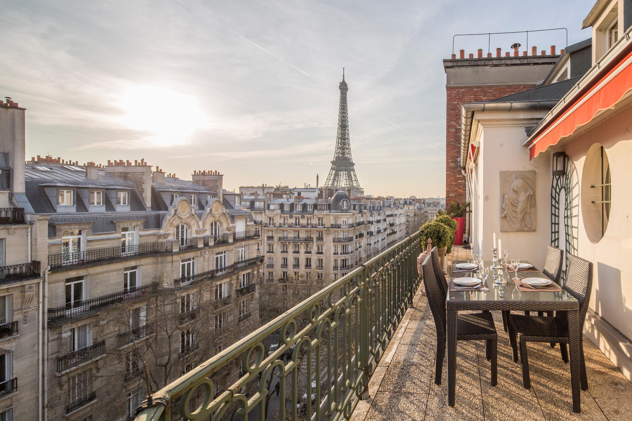 Paris Penthouses