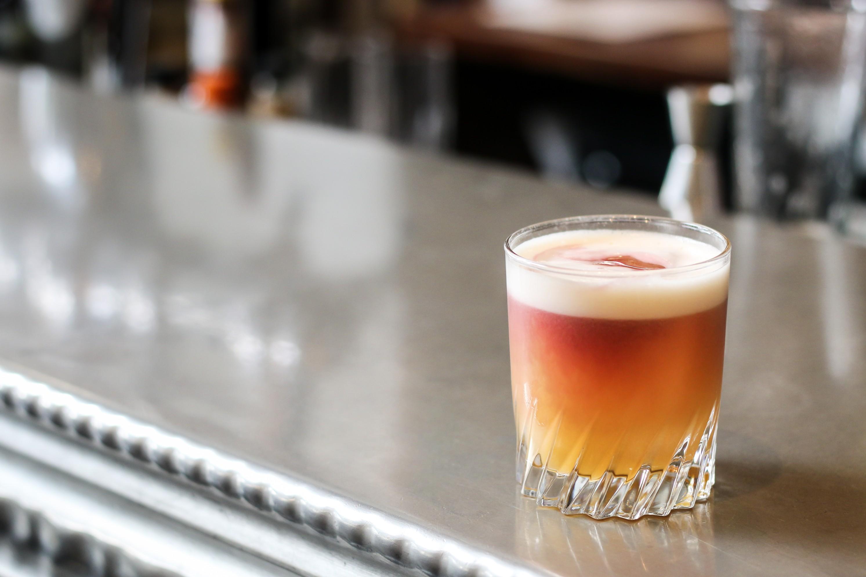 Paris Sour Cocktail Au Comptoir Vancouver