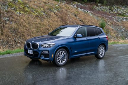 The 2018 BMW X3 xDrive30i