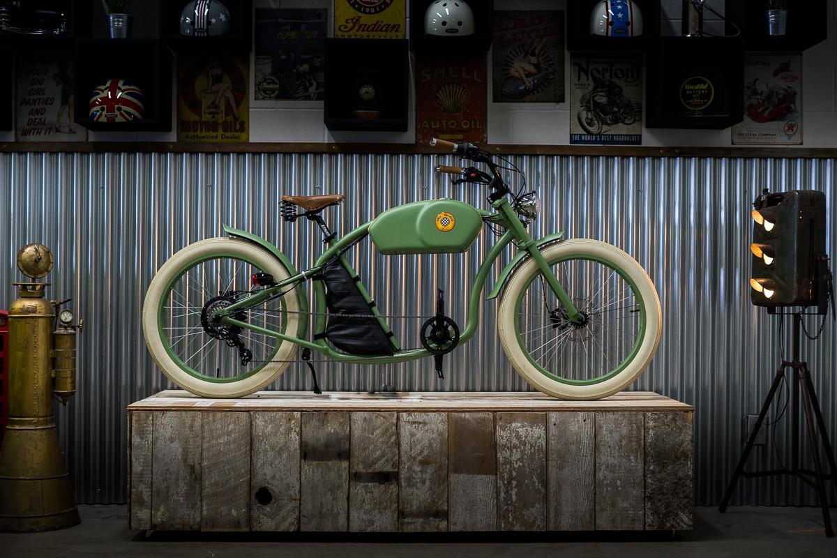 Vintage Iron E-Cycles, Vancouver