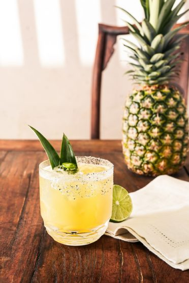 How To Make A Pineapple Cilantro Margarita