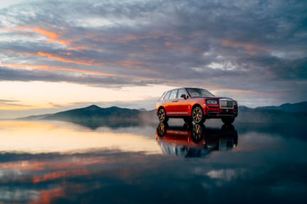 Rolls-Royce's Cullinan SUV