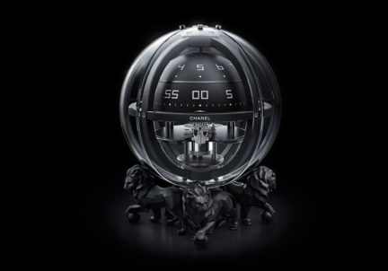 Chanel Chronosphere Clock NUVO