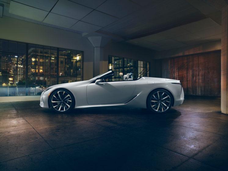 The Lexus LC Convertible Concept NUVO