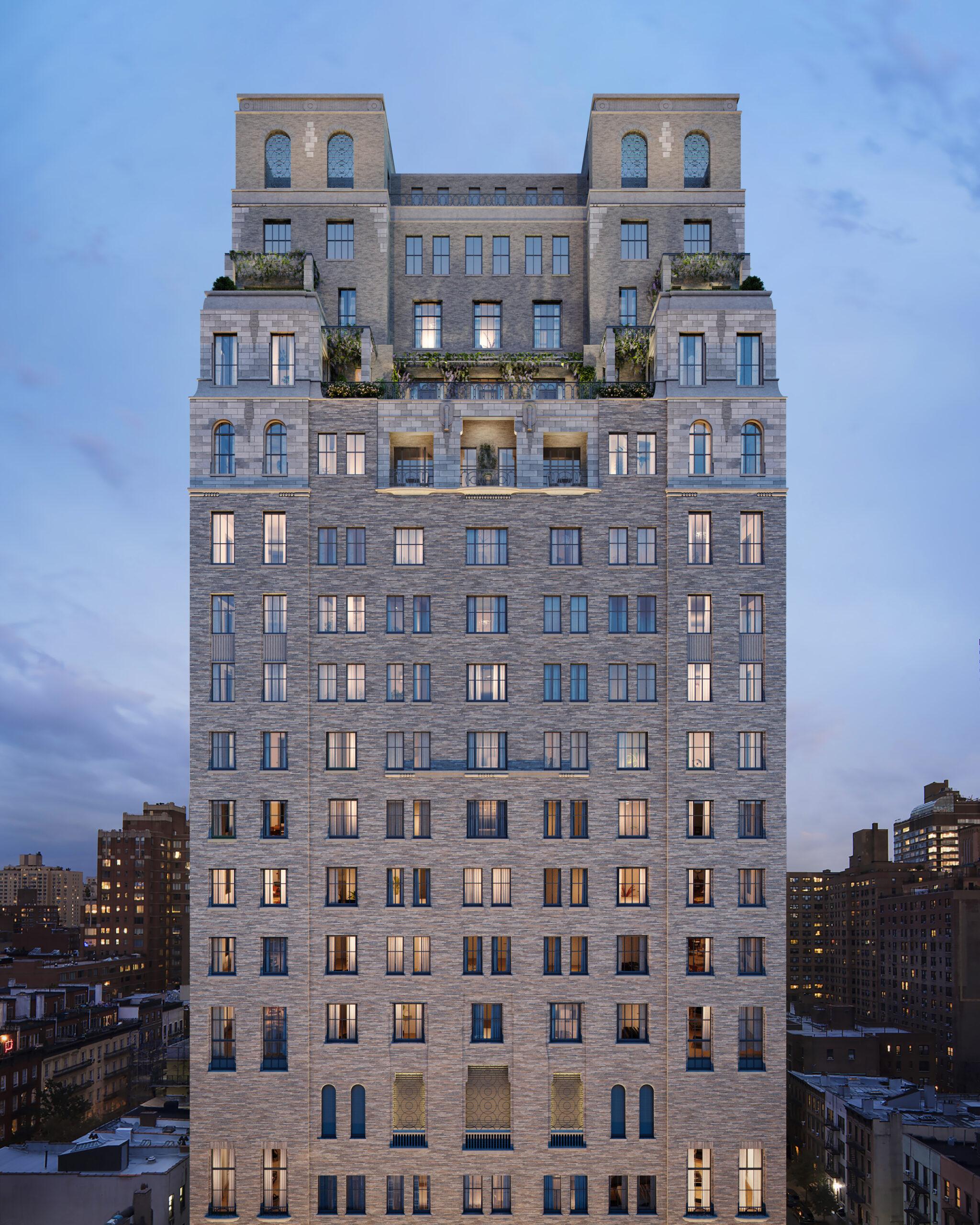 stone skyscraper new york new